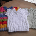 Cabled Sweater Dishcloth