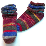 Gabriel's Stay-On Toe-Up Infant Socks